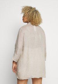 Persona by Marina Rinaldi - FISICA - Button-down blouse - beige freddo - 2