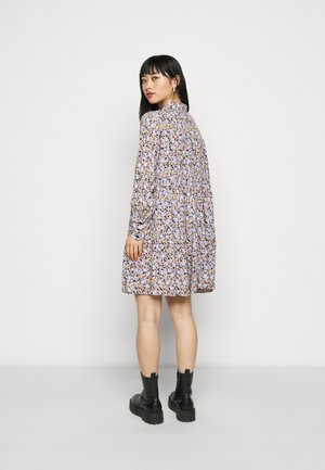 PCINIS DRESS - Shirt dress - black/blue
