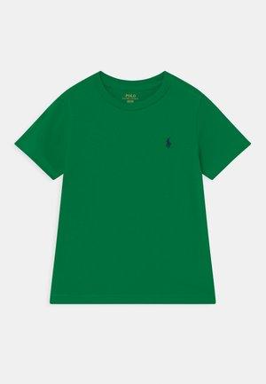 Jednoduché triko - billiard green