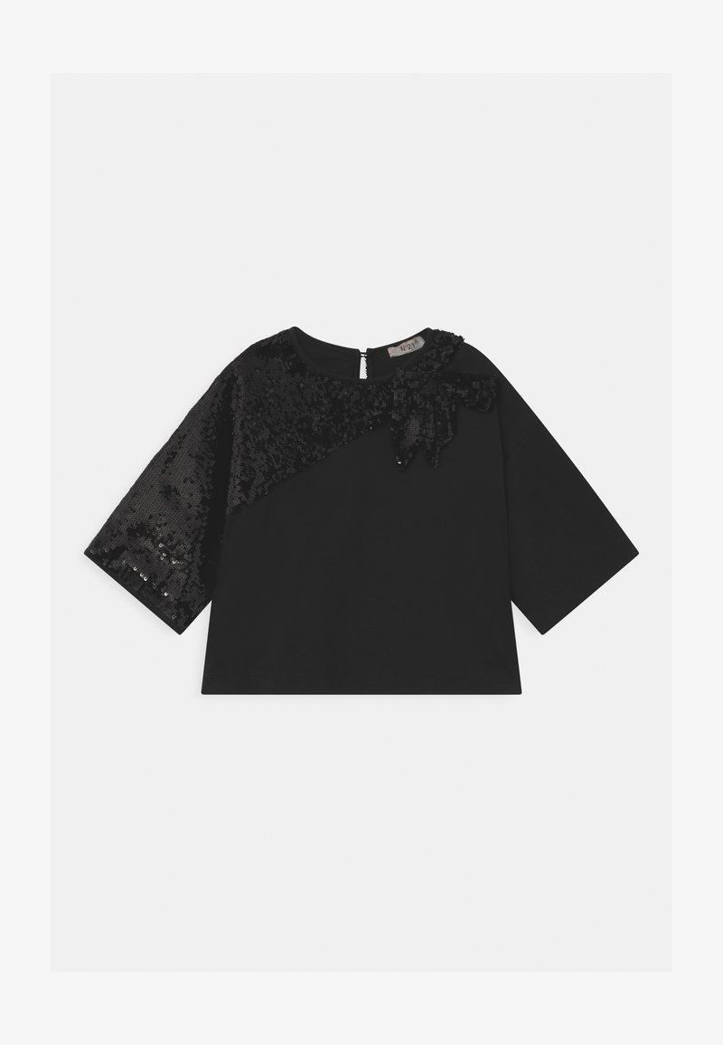 N°21 - MAGLIETTA - Print T-shirt - black
