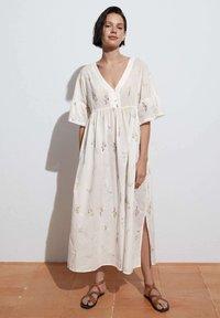 OYSHO - Maxi dress - white - 0