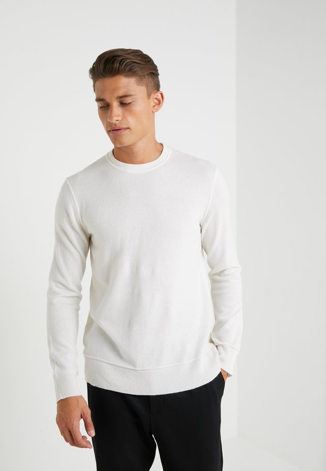 HILLES CREW - Pullover - ivory