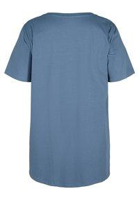 Zizzi - Basic T-shirt - grey - 4