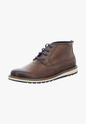 BERNA - Lace-up ankle boots - braun