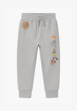 SPACE JAM LICENSE SLOUCH  - Tracksuit bottoms - winter grey