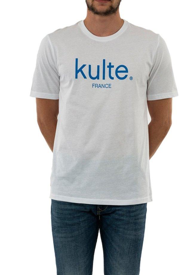CORPO FRANCE - T-shirt imprimé - blanc