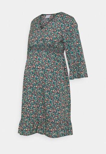 MLNATHALIA SHORT DRESS - Sukienka letnia - black