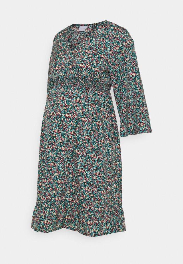 MLNATHALIA SHORT DRESS - Denní šaty - black