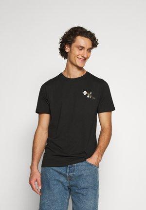 JPRDILLON TEE  - T-shirt imprimé - caviar