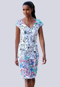 Alba Moda - Shift dress - weiss-bunt - 2