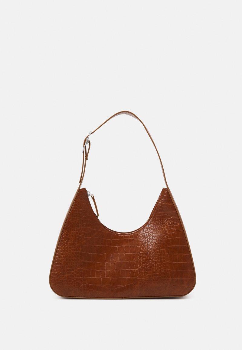Monki - HAYDEN BAG - Håndveske - croco