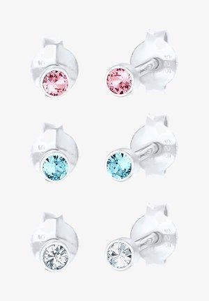 GLASS CRYSTAL - Korvakorut - silber