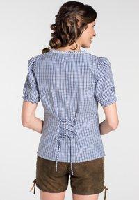 Spieth & Wensky - KAPRIO - Button-down blouse - blue/white - 1