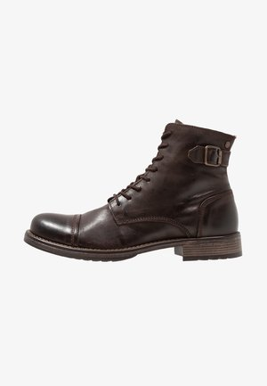 JFWSITI - Lace-up ankle boots - brown stone