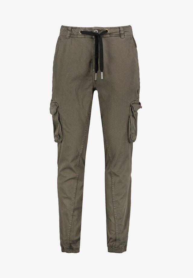 Cargo trousers - dark-green