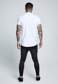 SIKSILK - GRANDAD COLLAR - T-shirt basic - white - 2
