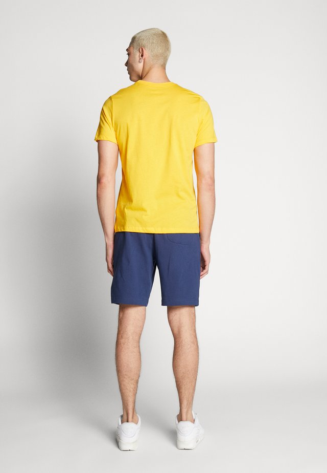 CLUB - Shorts - midnight navy/white