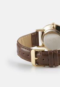 Burton Menswear London - CLASSIC WATCH - Reloj - gold-coloured/brown - 1