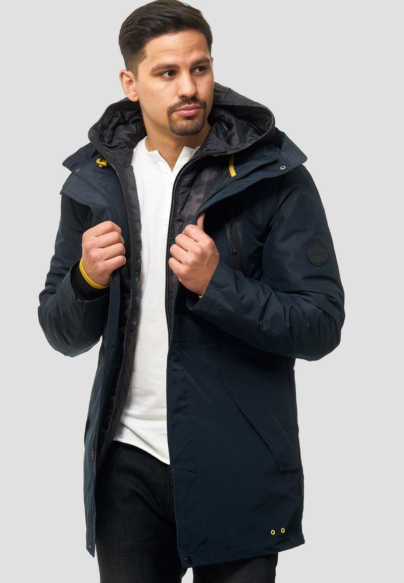 INDICODE JEANS - Cappotto invernale - black