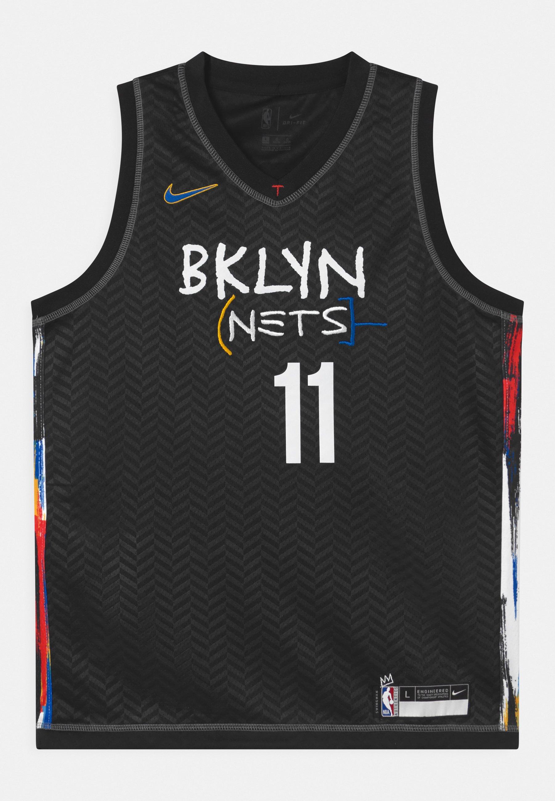 Kids NBA CITY EDITION BROOKLYN NETS KYRIE IRING UNISEX - Club wear