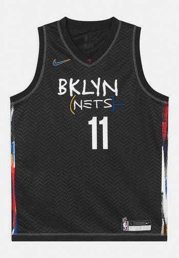 NBA CITY EDITION BROOKLYN NETS KYRIE IRING UNISEX - Club wear - black