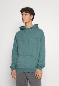 BDG Urban Outfitters - SKATE HOODIE UNISEX - Felpa - teal - 0