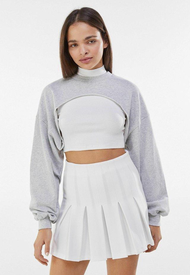 MIT ÄRMELN  - Sweatshirt - light grey