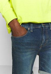 D-STRUCT - ARLES  - Denim shorts - blue - 4