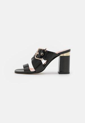 PEATAA - Heeled mules - black