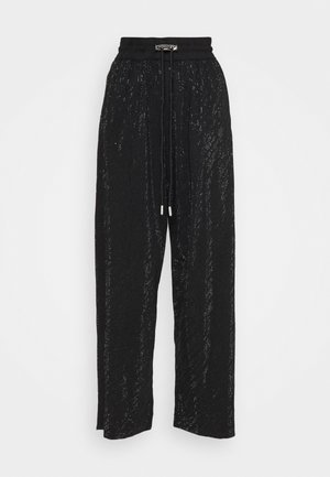STRASS - Trousers - black