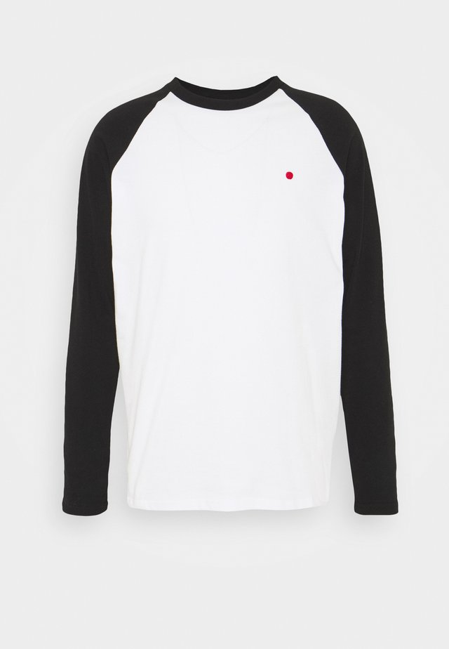 PRINT TEE RAGLAN - Long sleeved top - black