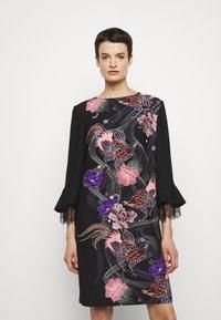 Alberta Ferretti - ABITO - Day dress - black - 4
