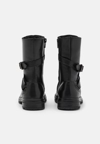 Friboo - LEATHER - Lace-up boots - black - 5