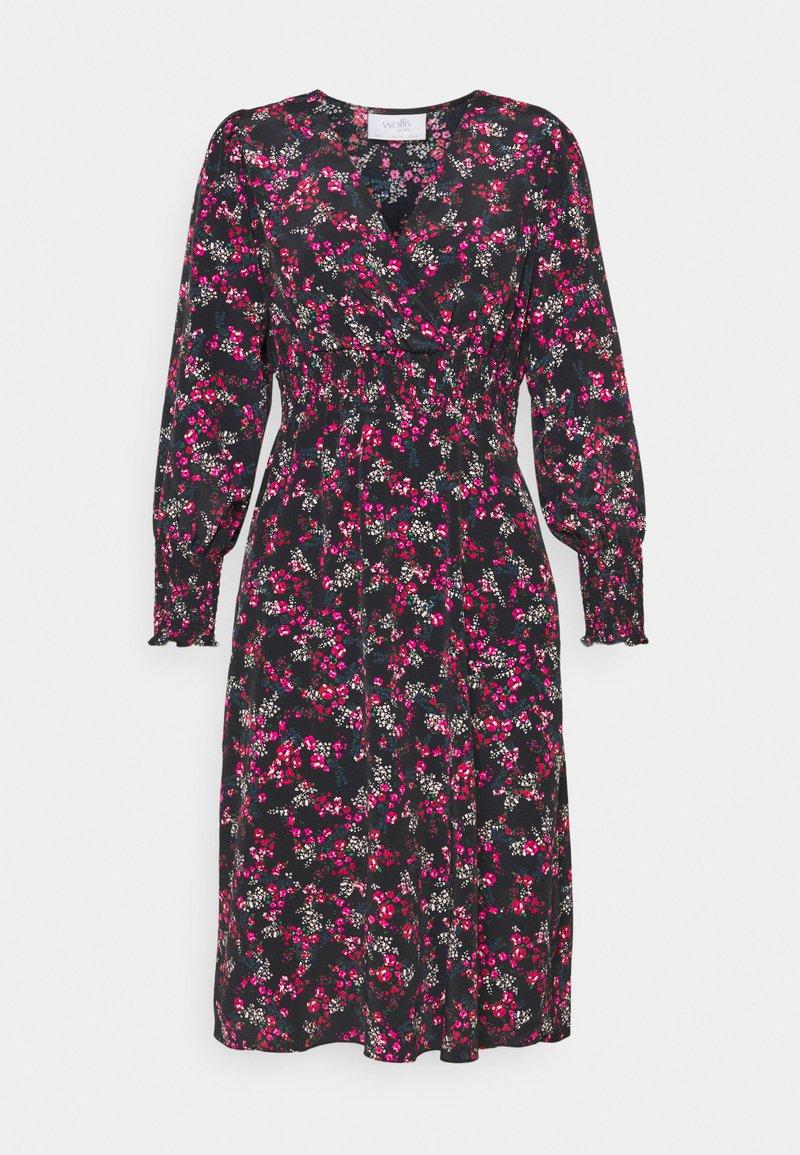 Wallis Petite - DITSY DRESS - Day dress - black