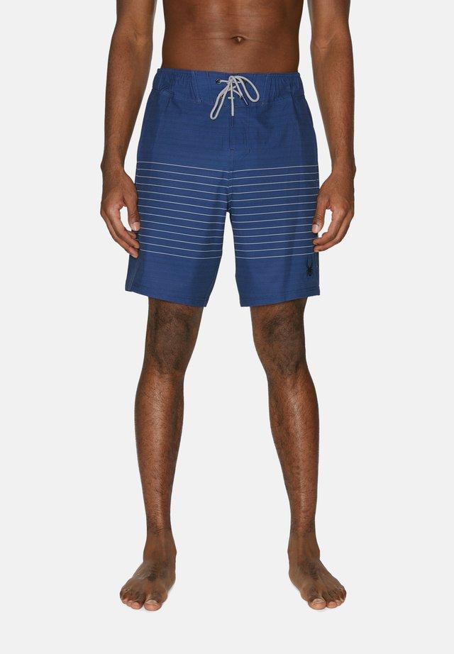 STRIPED - Zwemshorts - navy blue