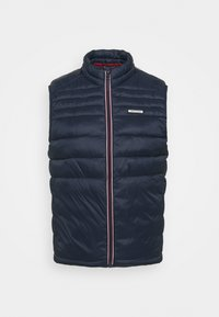 JJEACE BODYWARMER COLLAR NOOS - Waistcoat - navy blazer