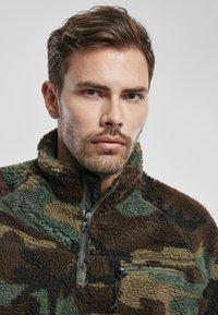 Brandit - Fleece jumper - woodland - 3