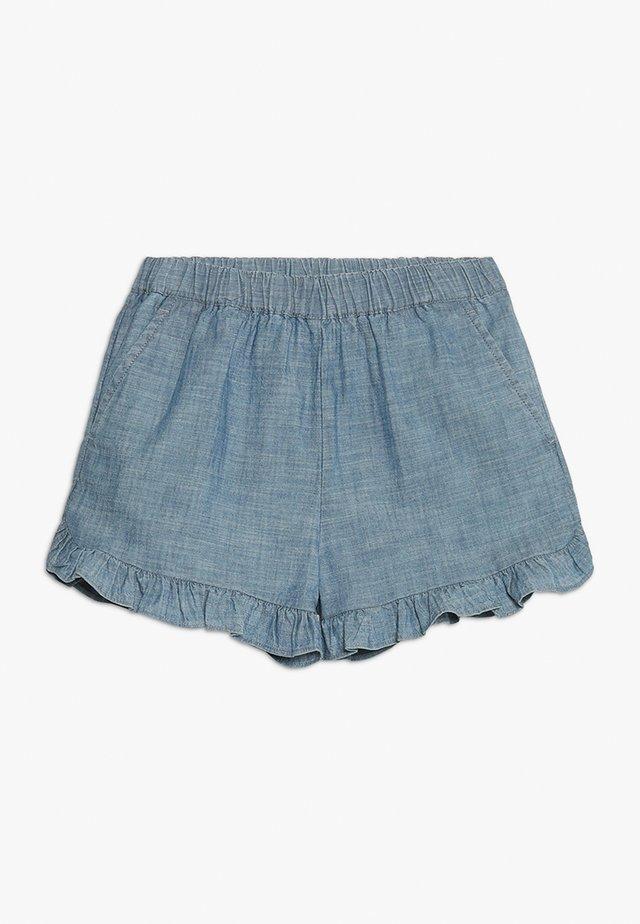 ELSA  - Short - indigo chambray