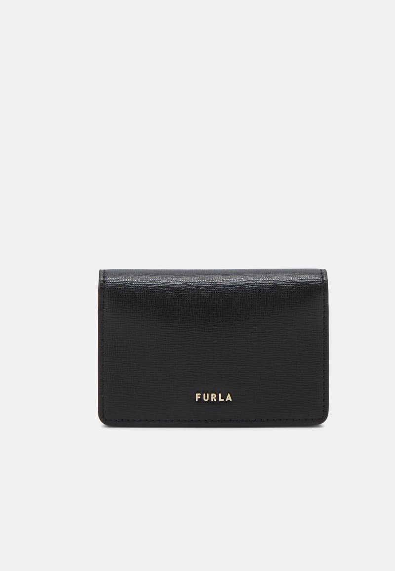 Furla - FURLA BABYLON CARD CASE - Peněženka - nero