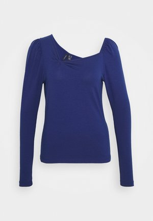 VMPANDA ASYMMETRIC - Long sleeved top - blue depths