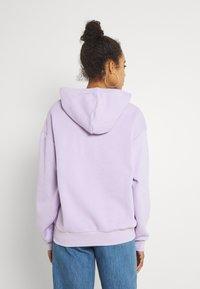 Monki - Bluza z kapturem - purple - 2