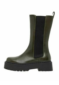 Bianco - BIADEB  - Platform boots - khaki - 2
