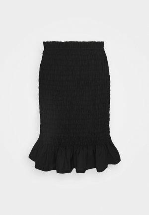 PCPATRICIA SKIRT - Mini skirt - black
