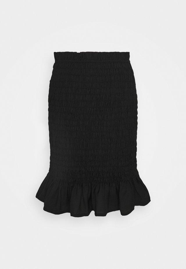 PCPATRICIA SKIRT - Mini skirts  - black