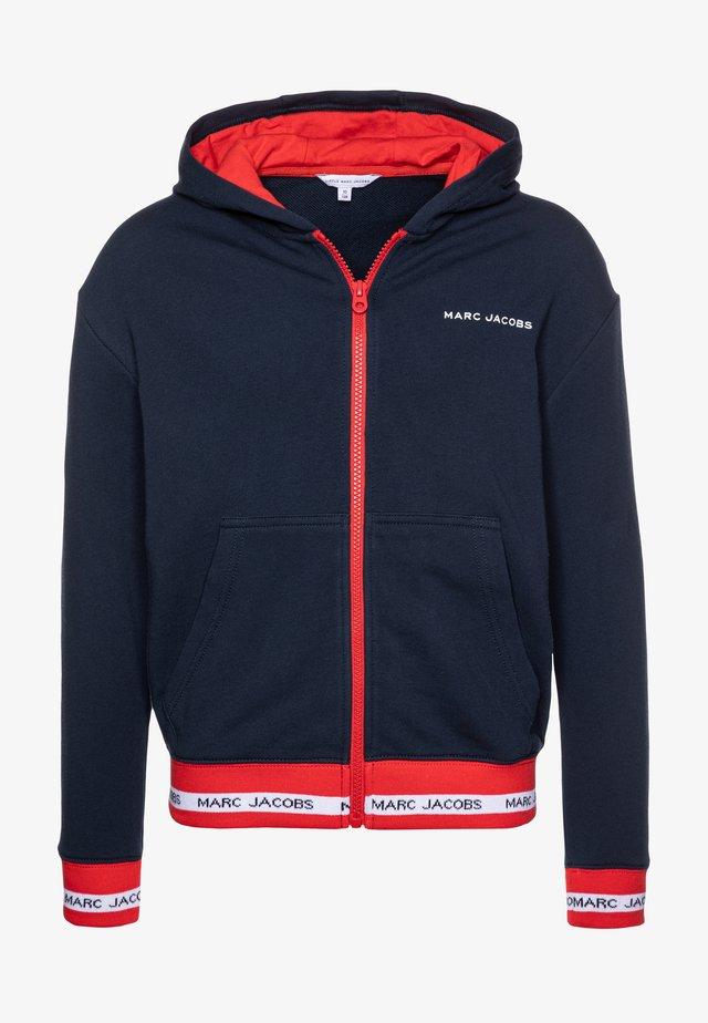 CARDIGAN SUIT - Zip-up hoodie - navy