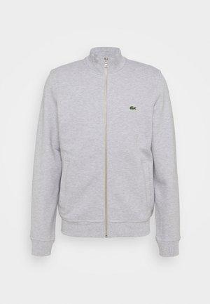 Zip-up hoodie - gris chine
