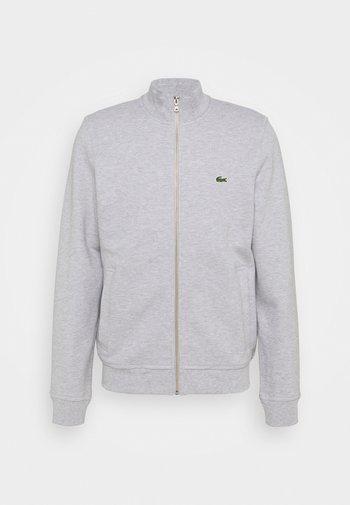 Zip-up sweatshirt - gris chine