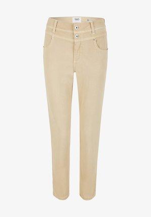 ORNELLA - Slim fit jeans - sand