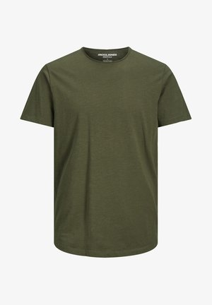 JJEBASHER TEE  - Basic T-shirt - forest night