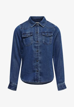 Overhemd - dark blue denim